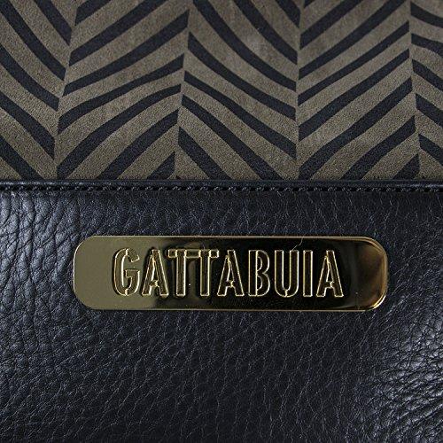 Gattabuia Alice, Borse a Tracolla Donna, Taglia Unica Marrone (Ebano/Fango)