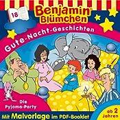 Die Pyjama-Party (Benjamin Blümchen Gute-Nacht-Geschichten 18) | Vincent Andreas
