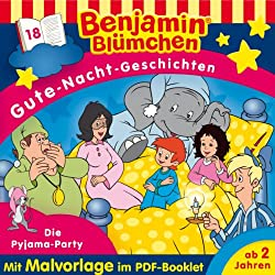 Die Pyjama-Party (Benjamin Blümchen Gute-Nacht-Geschichten 18)