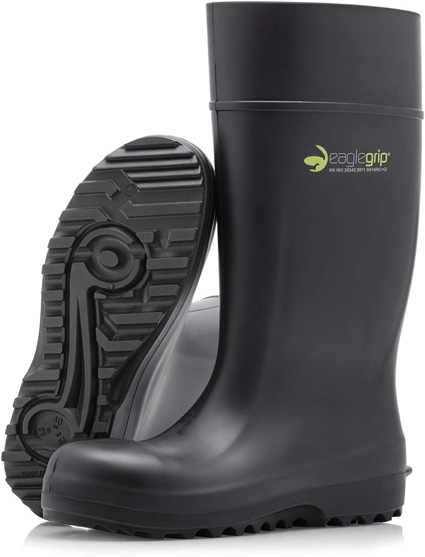 Dikamar Eaglegrip S5 - Botas de Seguridad Ligeras en PU: Amazon.es: Zapatos y complementos