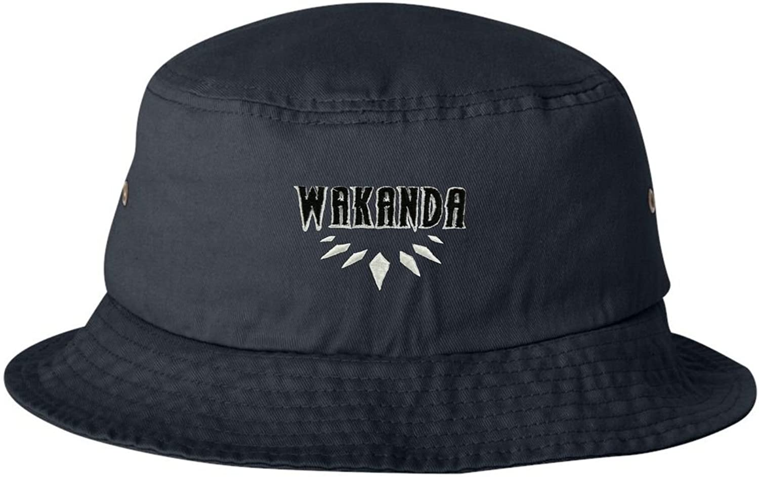 Go All Out Adult Wakanda Embroidered Bucket Cap Dad Hat