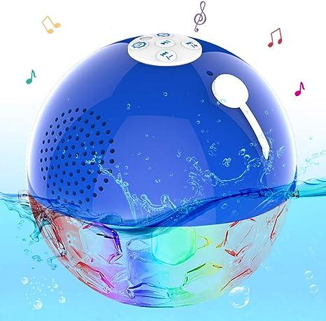 bluetooth pool speaker with lights