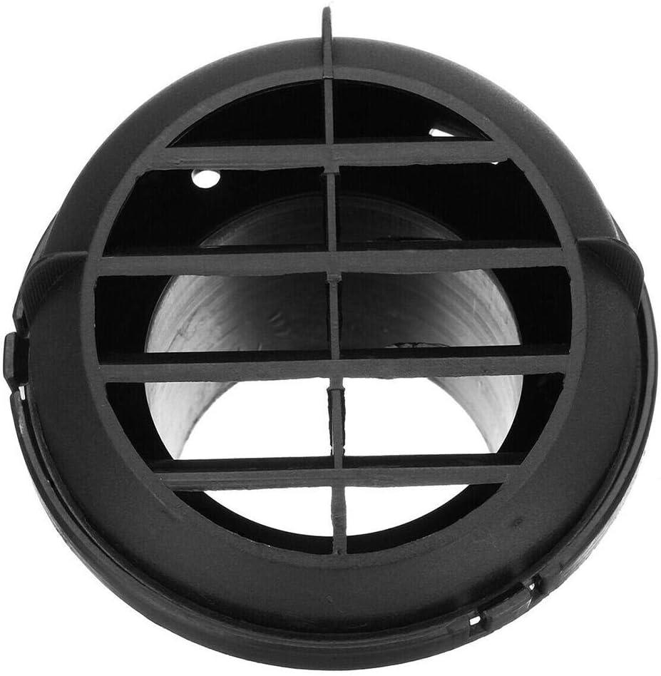 Liteness 2PCS Rejilla de ventilaci/ón redonda de acero inoxidable de rejilla Rejilla de ventilaci/ón Rejilla de aire Rejilla de ventilaci/ón para ventilaci/ón y ventilaci/ón CALENTADOR WEBASTO like-minded