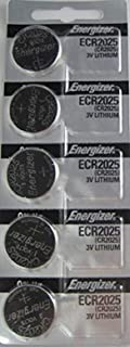 product image for Energizer CR2025 Lithium Battery, Card of 5ORMD