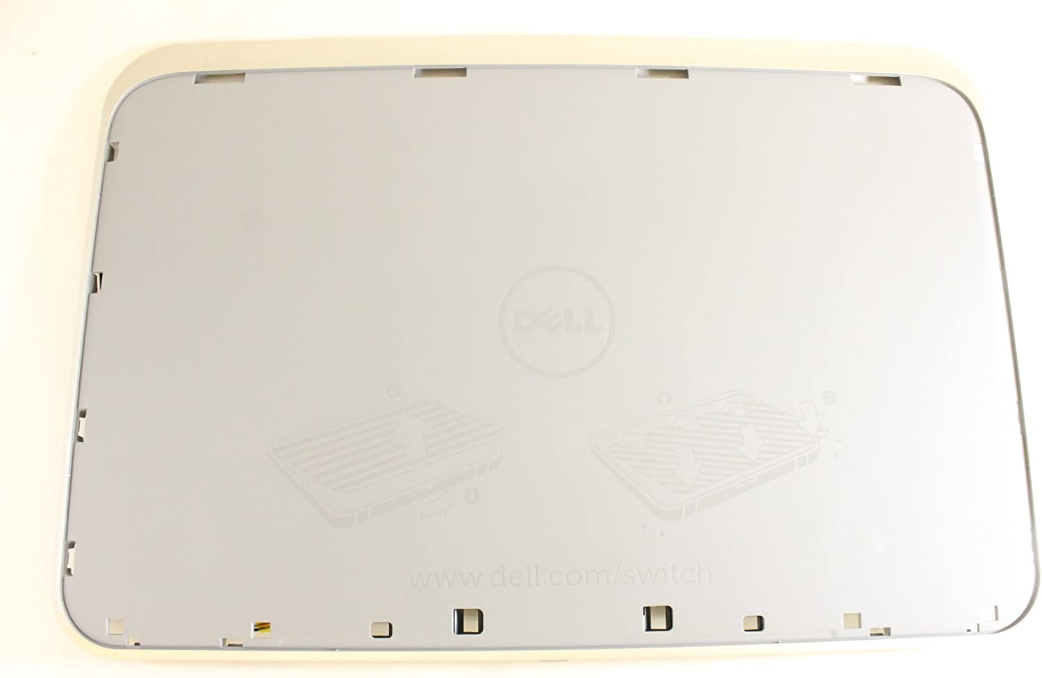 Dell LED 841DG Gray LCD Back Cover Inspiron 5520 7520 Top Lid