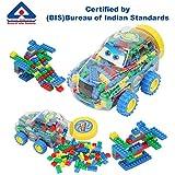 Kurtzy DIY Building Block Puzzle Toy Set for Kids Construction Learning Educational Creative Activity 266Pcs