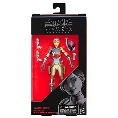 Star Wars Black Series 6 Inch Sabine Wren Action Figure: Toys & Games