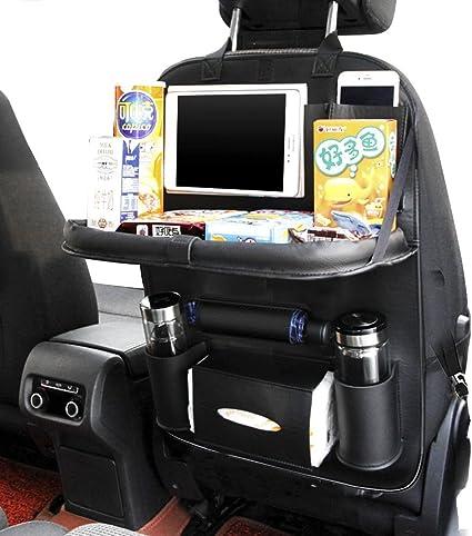 Yinleader Car Organiser PU Waterproof Seat Back Protectors 4 USB Charge...