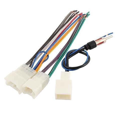 sourcingmap Radio de Coche cable de antena CD arnés adaptador de cable Kit
