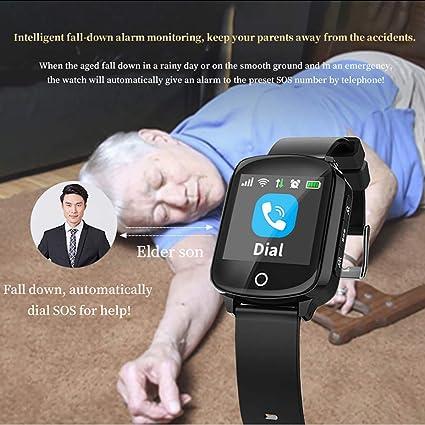 Amazon.com: Kariwell Elderly Smart Watch - IP68 Waterproof ...