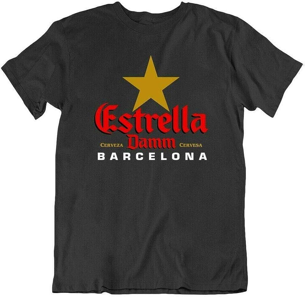 Estrella Damm Beer Barcelona Drink Alcoholgood Deal Mens T Shirt tee Gift Funny