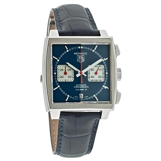TAG Heuer Men's CAW2111.FC618 Monaco Calibre 12 Automatic Chronograph Watch