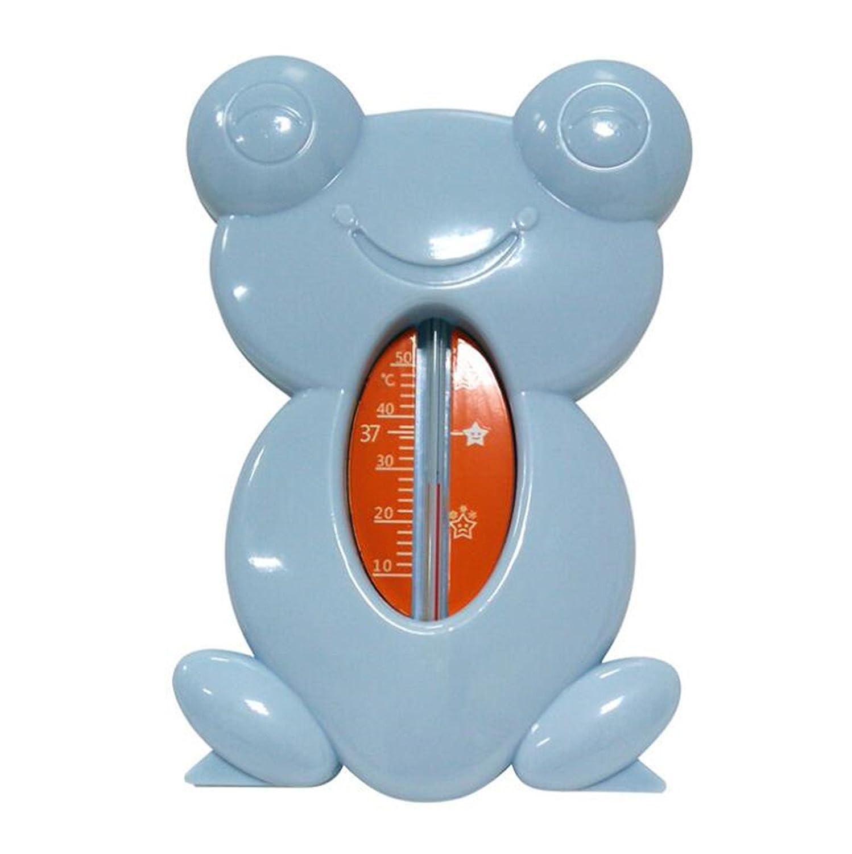 Bain pour bébé Grenouille dessinée Thermomètre à eau (bleu) JKLMOON