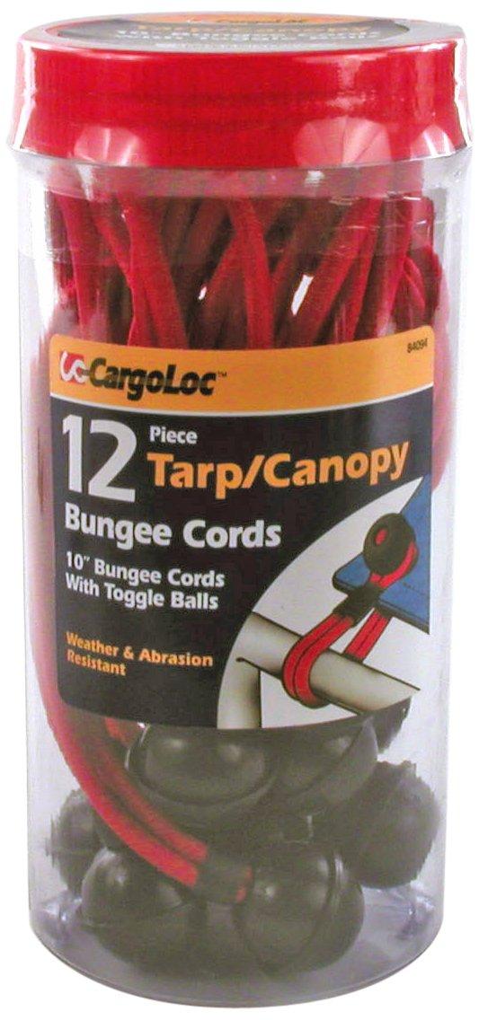 CargoLoc 84094 Tarp Cords, 10-Inch, Red