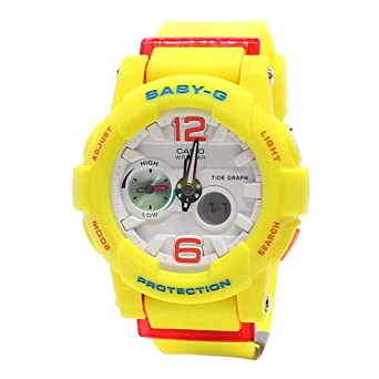Casio Ladies Baby-G Analog-Digital Casual Quartz Watch NWT BGA-180-