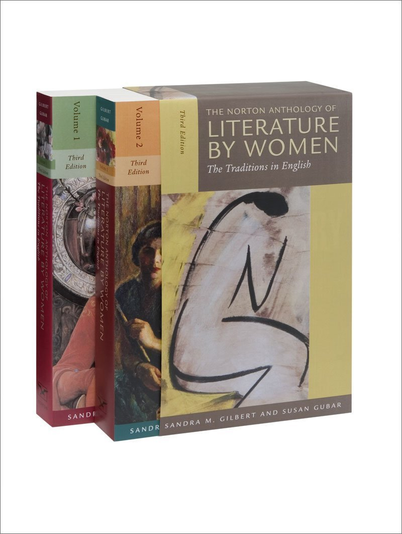 Norton Anthology of Literature by Women (Boxed set, Volumes 1 and 2) by Sandra M Gilbert