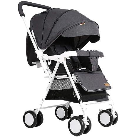 Baby Stroller Carrito de bebé Puede Sentarse/mentir Paraguas ...