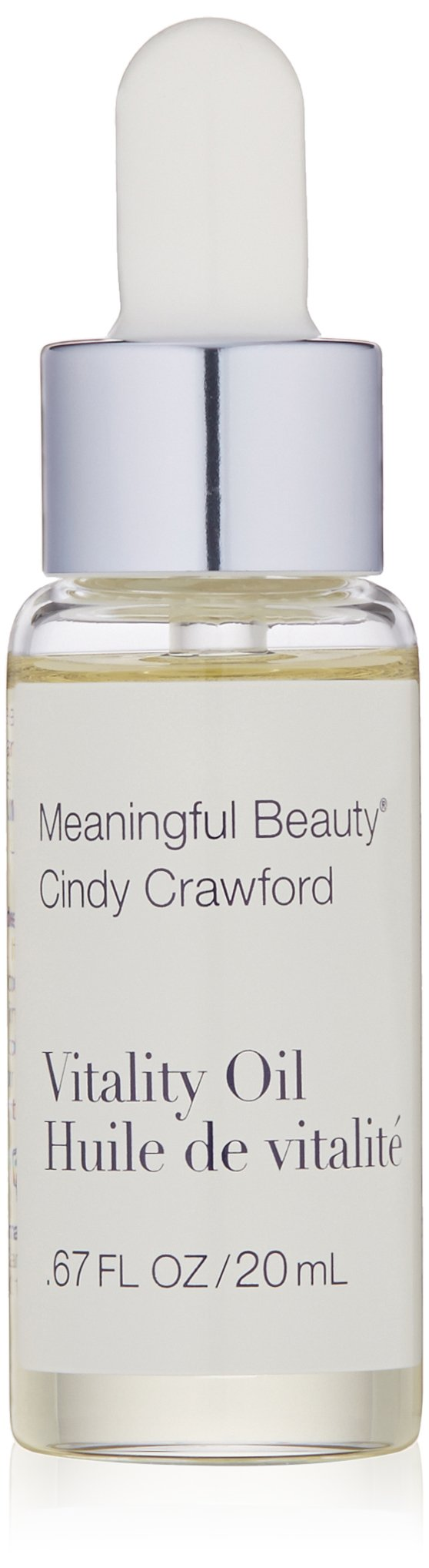 Meaningful Beauty - Vitality Oil - Lightweight Intense Hydration Oil - 0.67 Ounces - MT.0347