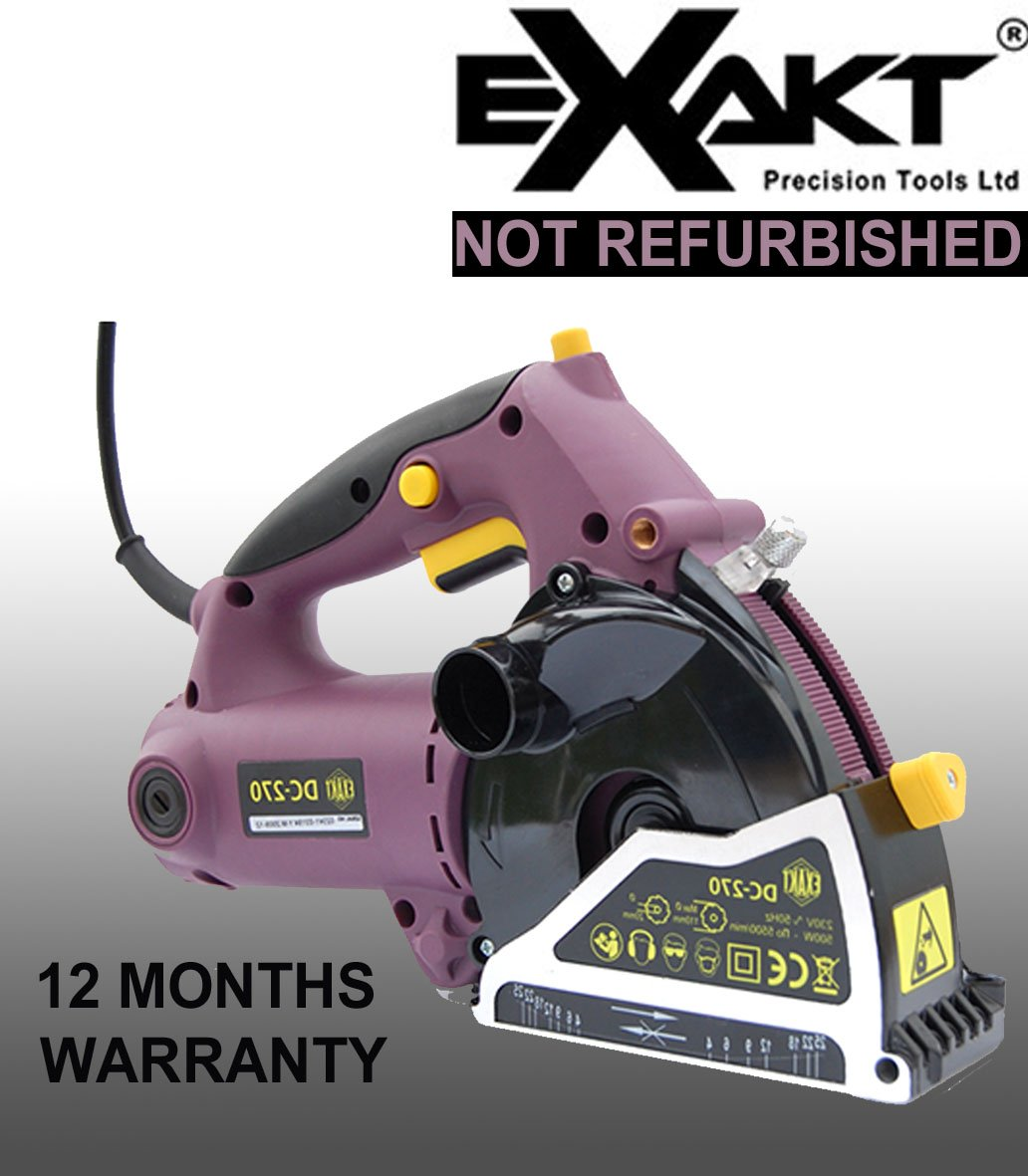 Exakt Saw Dc270 Brand New Deep Cut Cuts Up To 26mm Co Uk Diy Tools