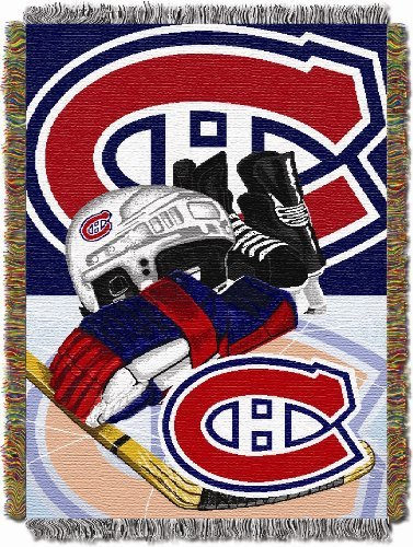 Northwest NHL Montreal Canadiens Acrylic Tapestry Throw Blanket