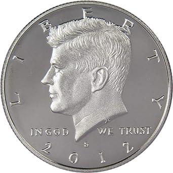 2012-S  PROOF  HALF DOLLAR