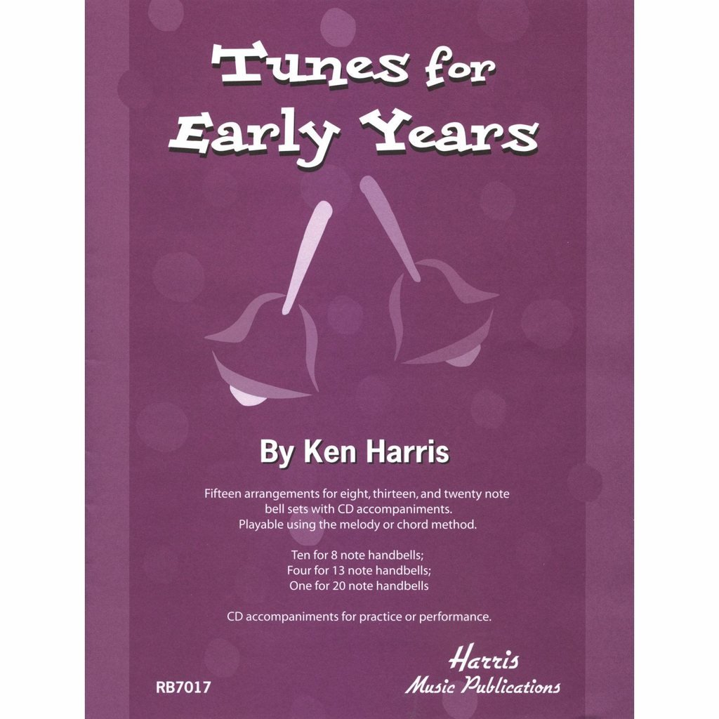 Harris Tunes for Early Years Song Book with CD (15 Songs; All Ages) by Westco