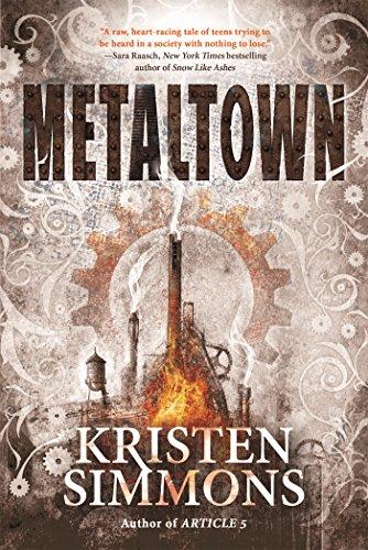 Metaltown by [Simmons, Kristen]