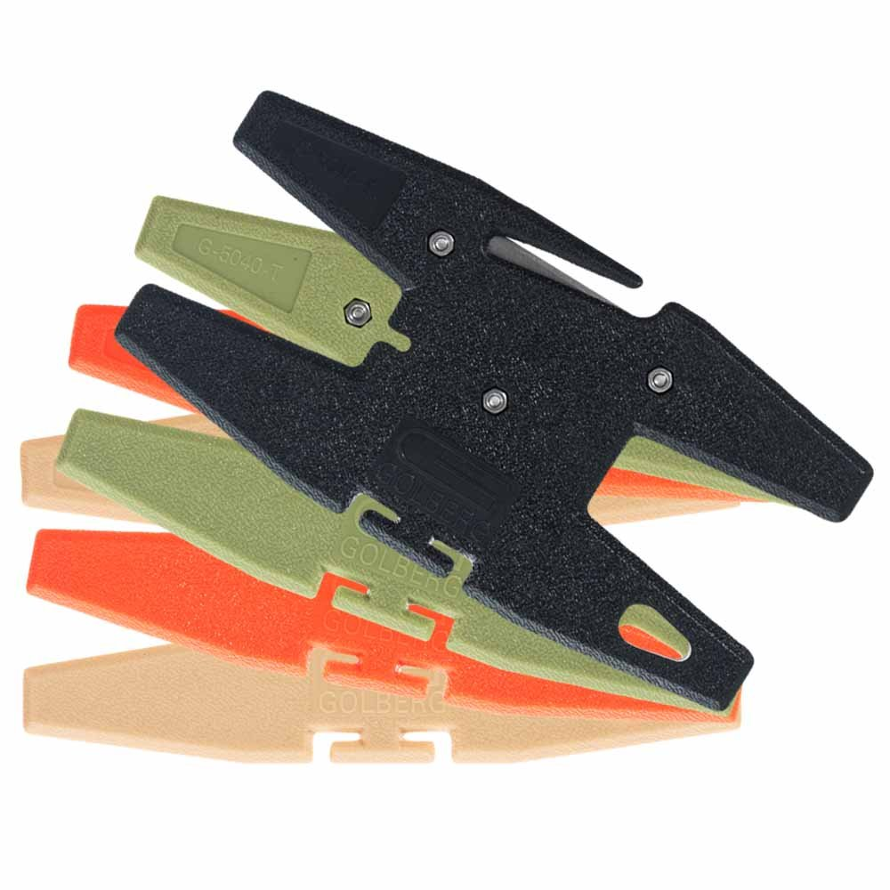 GOLBERG Spool Tool Winder - Holds up to 100 Feet of Paracord - Perfect for your Survival and Bug Out Bags - All in One Holder