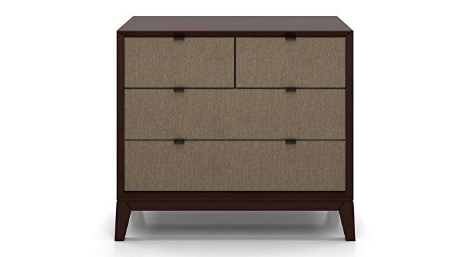 Urban Ladder Martino Urban Ladder Martino Chest of Drawers (Matte Finish, Mist Brown)