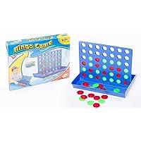 لعبة شطرنج الاطفال اربعة في الصف لتنمية مهارات الطفل في التفكير