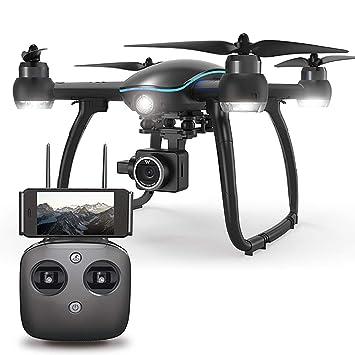 Goolsky GPS RC Drone con Cámara 1080P 2.4G WiFi FPV Sígueme Modo ...