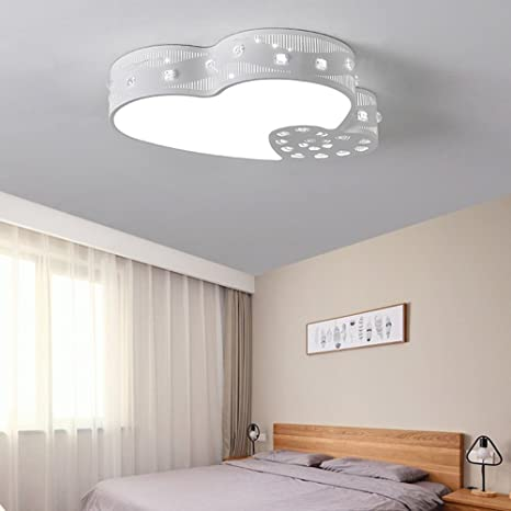 ZHANGRONG-plafoniere per bambini-- Moderno Patch LED Cuore Ferro ...