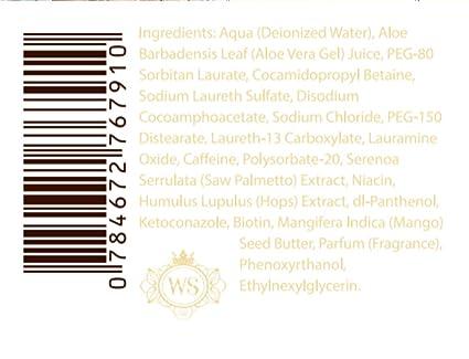 Amazon.com: Pérdida de cabello pérdida de cabello Champú ...