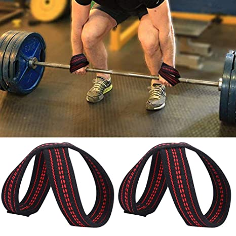 FITAXIS-Figure 8 Straps for Bodybuilding Weightlifting,Deadlift Workout