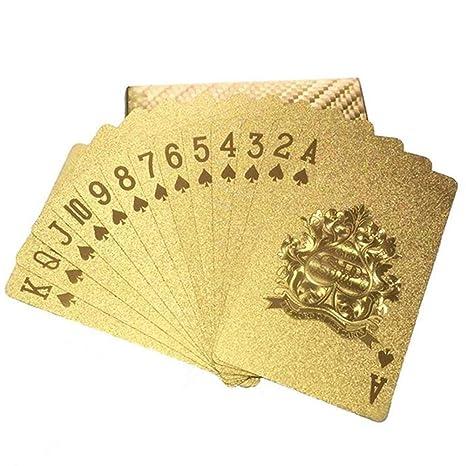 Naipes Poker Plástico, Baraja De Cartas De Póker, Juego De ...