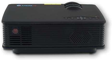 Medialy Gx90 Led Beamer Projektor Heimkinoprojektor Mini Videoprojektor Video Projektoren Videoprojektoren Hd Ready 3dhdmi Hd Heimkino 800 Lumen In Schwarz Heimkino Tv Video