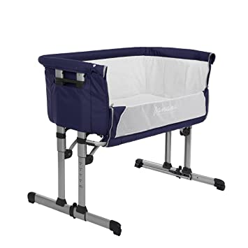 panana new design bedside crib cot next to me baby bed height adjustable with mosquito net