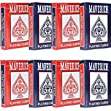 Maverick 8 Decks of Playing Cards