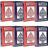 Maverick 8 Decks of Playing Cards