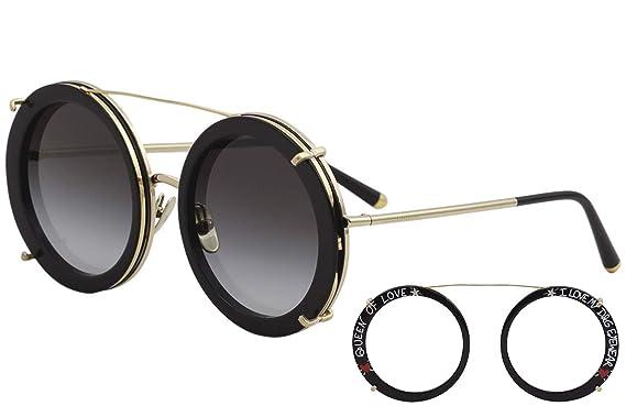 Ray-Ban 0DG2198, Montures de Lunettes Femme, Noir (Gold Black), 63 ... edc9a3bb57c8
