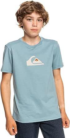Quiksilver Comp Logo SS YTH Camiseta para Niños