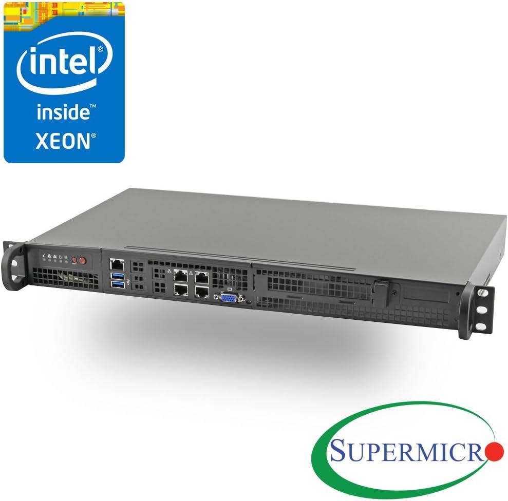 Supermicro 5018D-FN4T Xeon D-1541 8-Core Front IO Mini 1U Rackmount w/Dual 10GbE
