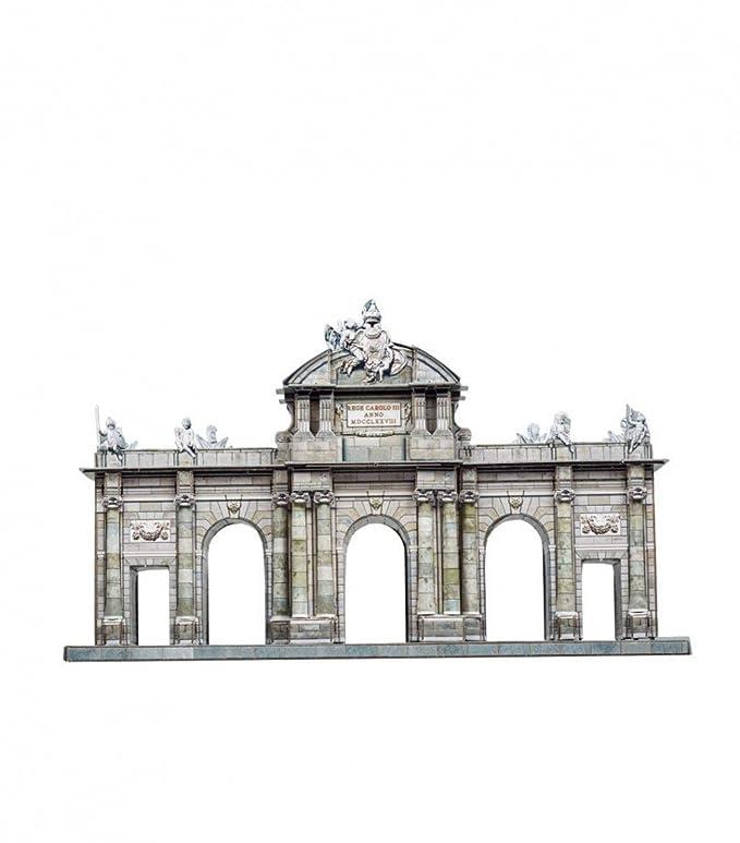 CLEVER PAPER- Puzzles 3D Puerta de Alcalá, Madrid (14353): Amazon ...