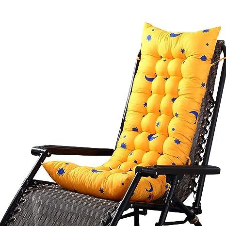 SUPERLOVE Chaise Lounge Cojín Cojín para Silla De Jardín Cojines Al Aire Libre Cojines para Salón Mecedora para Jardín Sillón Reclinable Veranda para ...