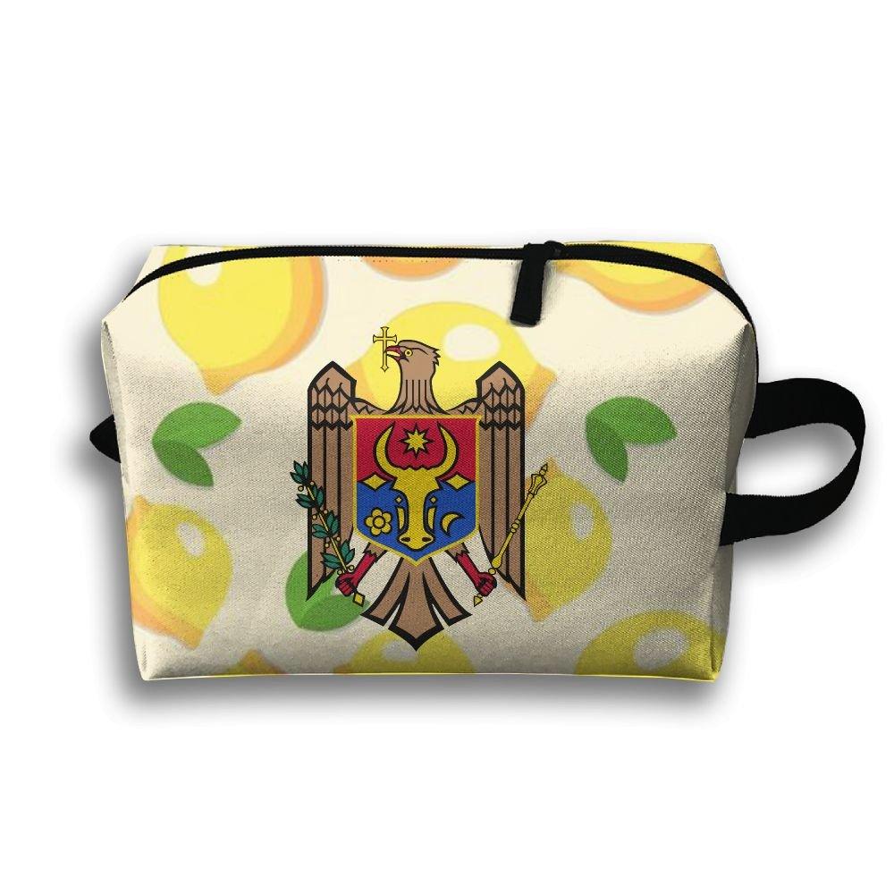 Moldova Coat Of Arms Travel Bag Multifunction Portable Toiletry Bag Organizer Storage