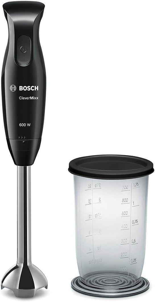 Bosch MSM2610B CleverMixx Batidora de mano, 600 W, color negro