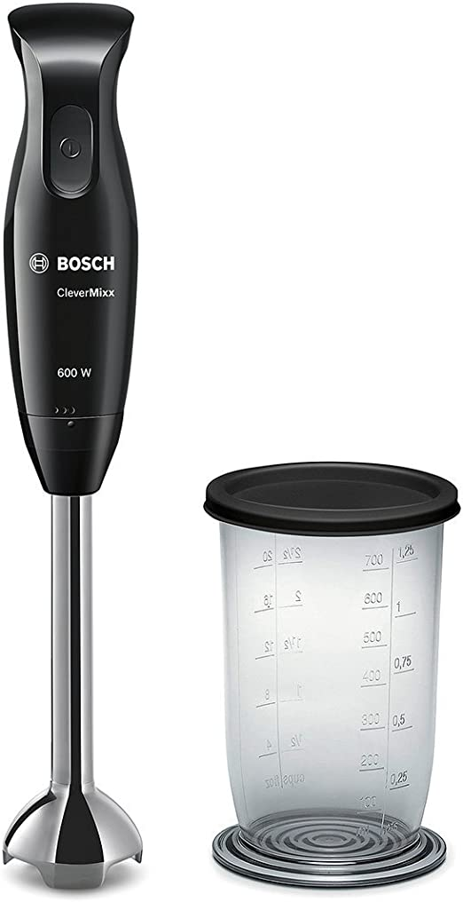 Bosch MSM2610B CleverMixx Batidora de mano, 600 W, color negro ...