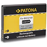Battery BG32100 BG-32100 for HTC A9393   Desire S   Desire Z   7 Mozart   A7272   C510e   Incredible S   Salsa   T8699   Vision   S510e   S710e   S710d   S715E and more... [ Li-ion; 1600mAh; 3.7V ]