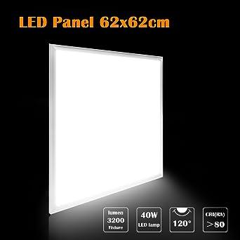 40w Led Panel Wandleuchte Ersetzt 58w Leuchtstoffrohre 3500lm 62x62