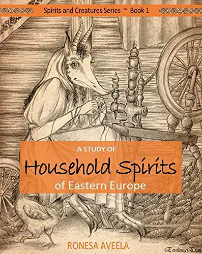 Creepy Halloween Font - A Study of Household Spirits of